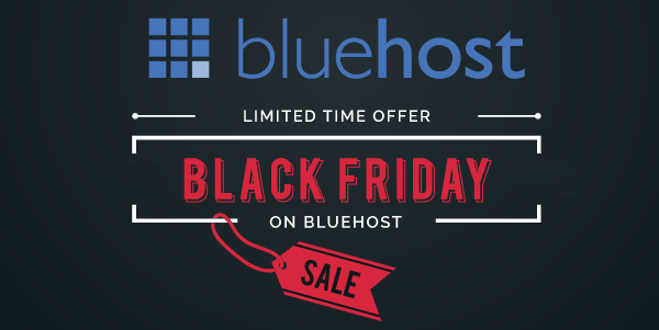Bluehost Black Friday Sale, Deals & Coupon