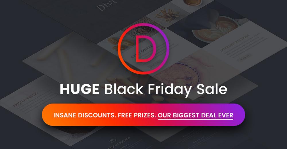 Elegant Themes Cyber Monday / Cyber Monday Sale