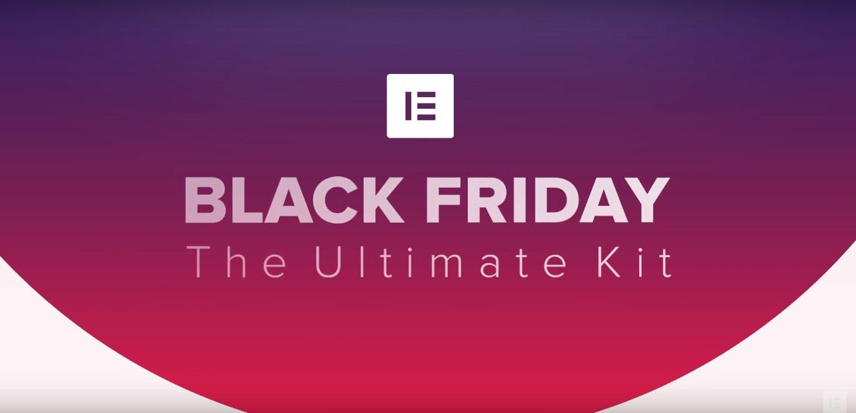 Elementor Pro Black Friday / Cyber Monday Sale & Deals