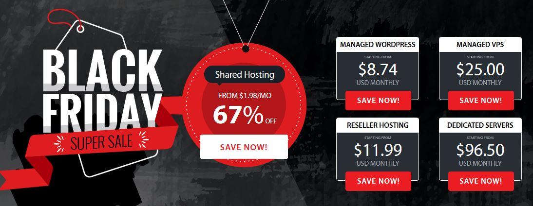 A2 Hosting Cyber Monday Sale 2018