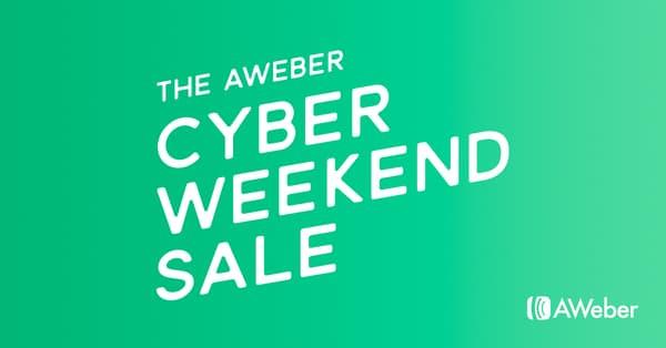 Aweber Black Friday Sale - 25% Discount
