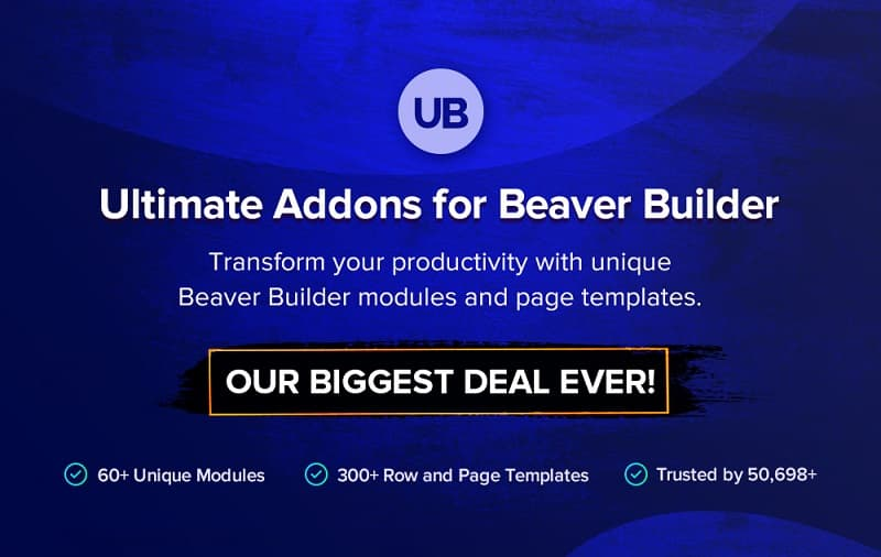 Ultimate Addons for Beaver Builder Black Friday Sale - Grab 30% Discount Now on UABB