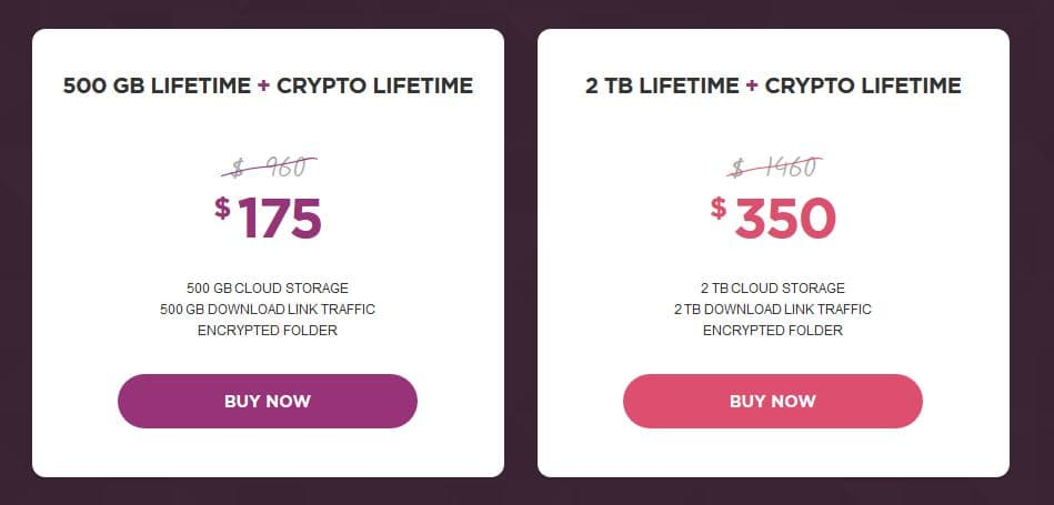 pCloud Cyber Monday Deal - pCloud Lifetime + Crypto at Upto 82% Discount