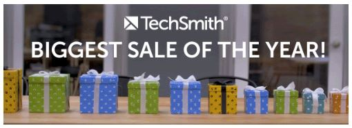 Techsmith Black Friday Sale - 25% Discount