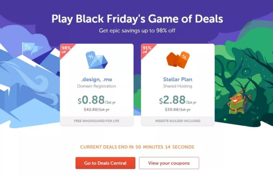 Namecheap Christmas Sale Flash Deals