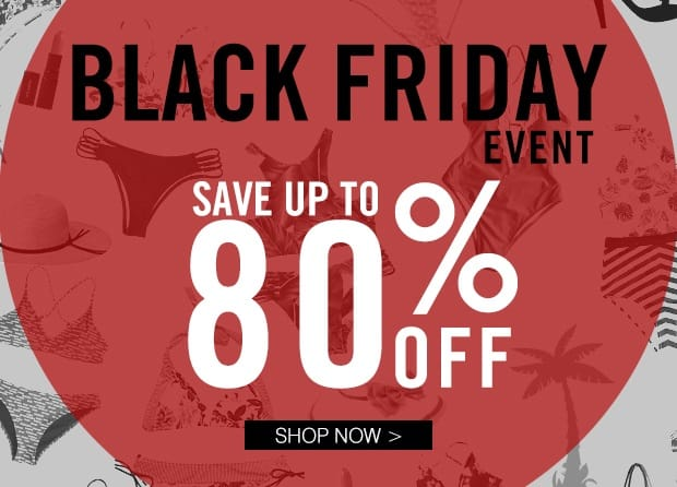 Cupshe Black Friday Sale - Up to 80% Discount