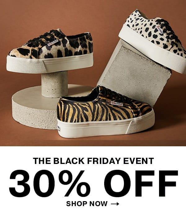 Superga Black Friday - 30% Discount on Everything