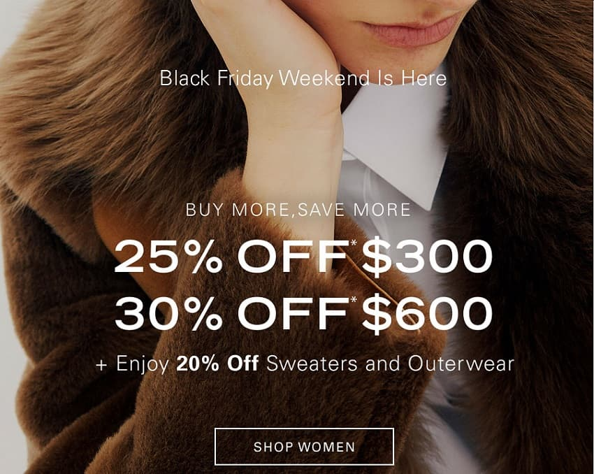 Theory Deals Black Friday Sale