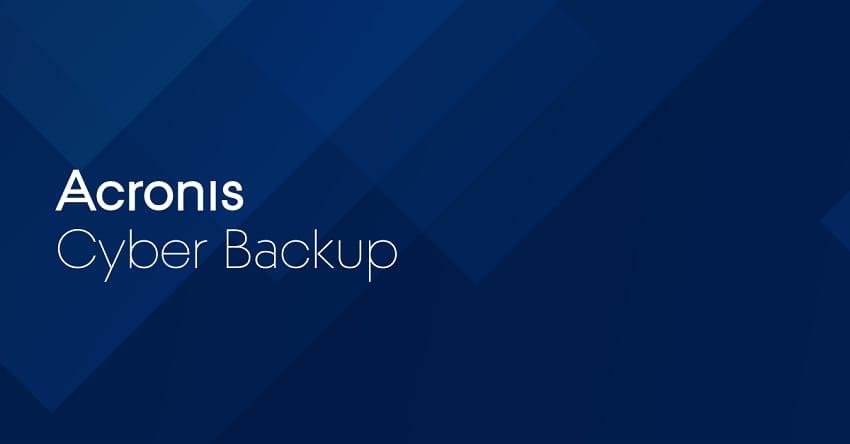 Acronis Cyber Backup - Acronis Black Friday / Cyber Monday Sale