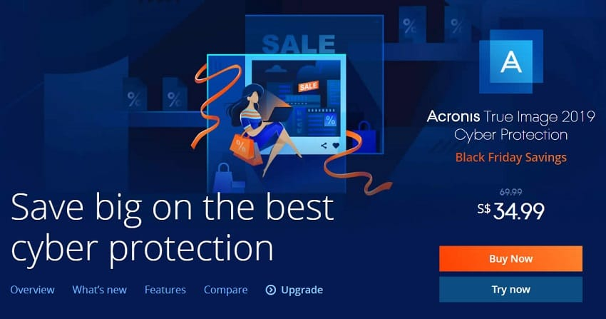 Acronis Black Friday Sale 80 Discount On True Image More