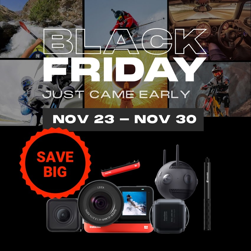 Insta360 Cyber Monday Sale is Here!