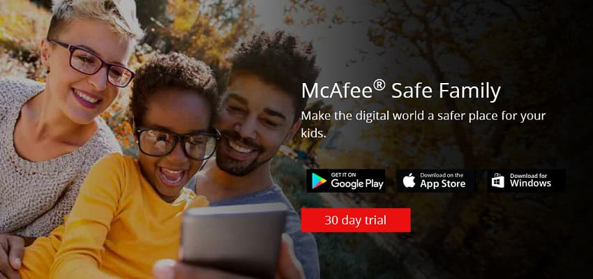 McAfee Safe Family 50% Discount