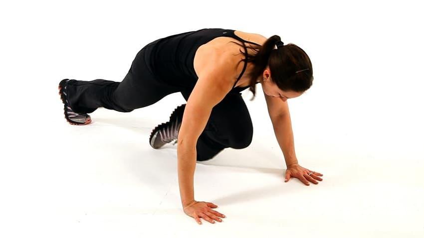 mountain climber exercise to loose fat