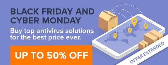 Avast Black Friday, Avast Cyber Monday