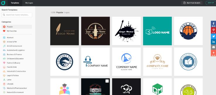 Make Logos with DesignEvo