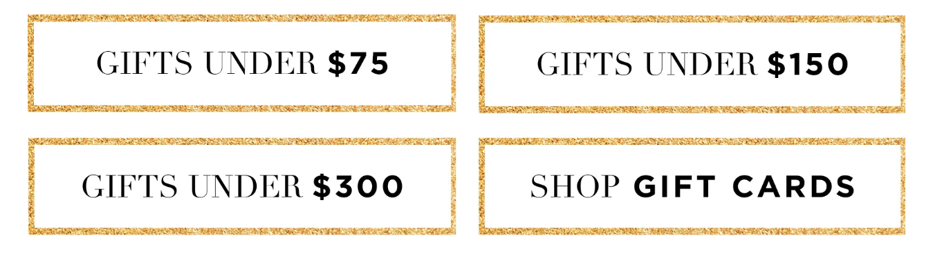 Cosabella Black Friday Deal - Gifts Starting at $75!
