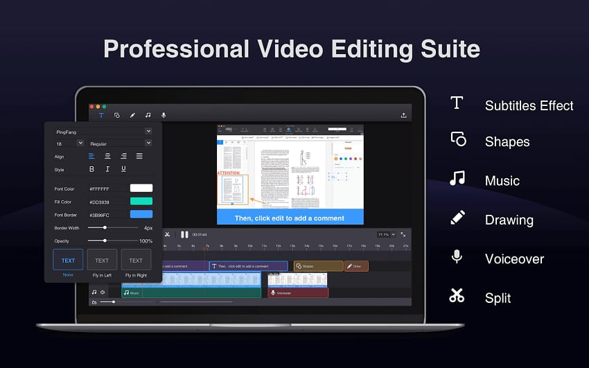 Video Editing with Filmage