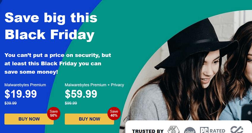 MalwareBytes Black Friday Sale, 50% OFF!
