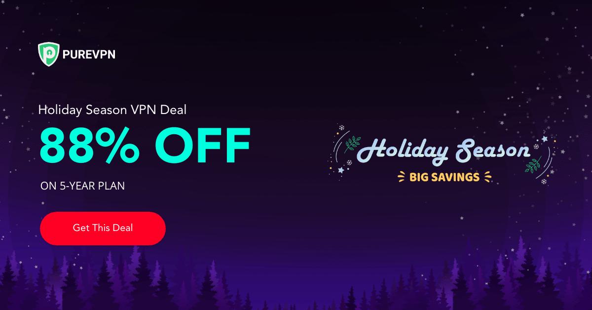 PureVPN Christmas Sale, Live Now!