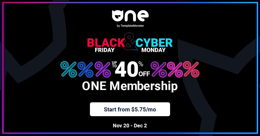Template Monster One Membership Sale!