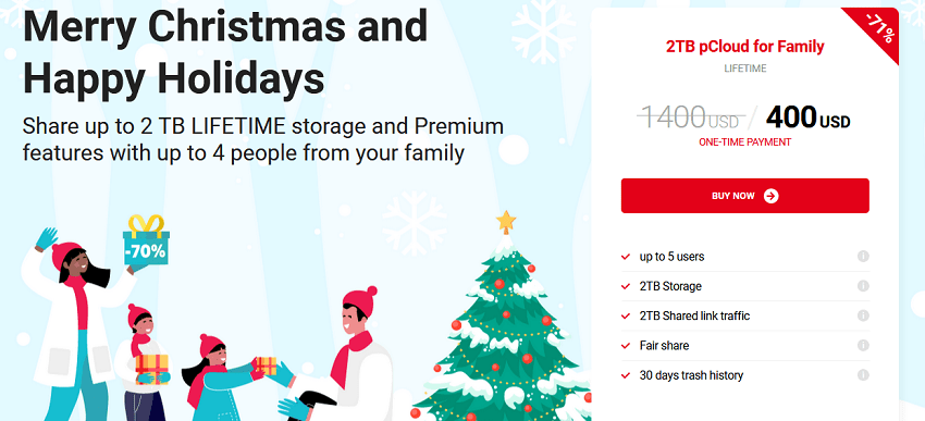 pCloud Christmas Deal!
