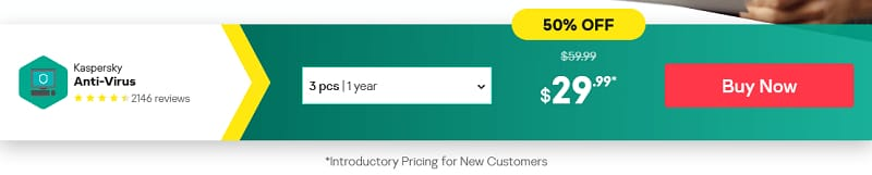 KasperSky Antivirus on Discount, Sale is ON!