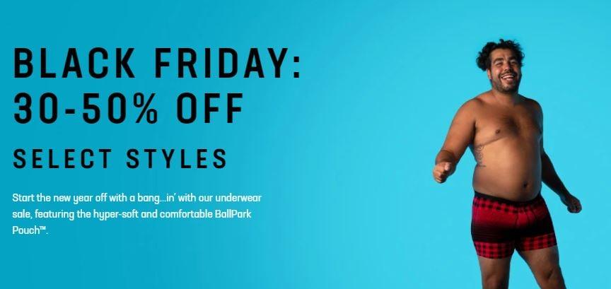 Saxx Underwear Black Friday Sale