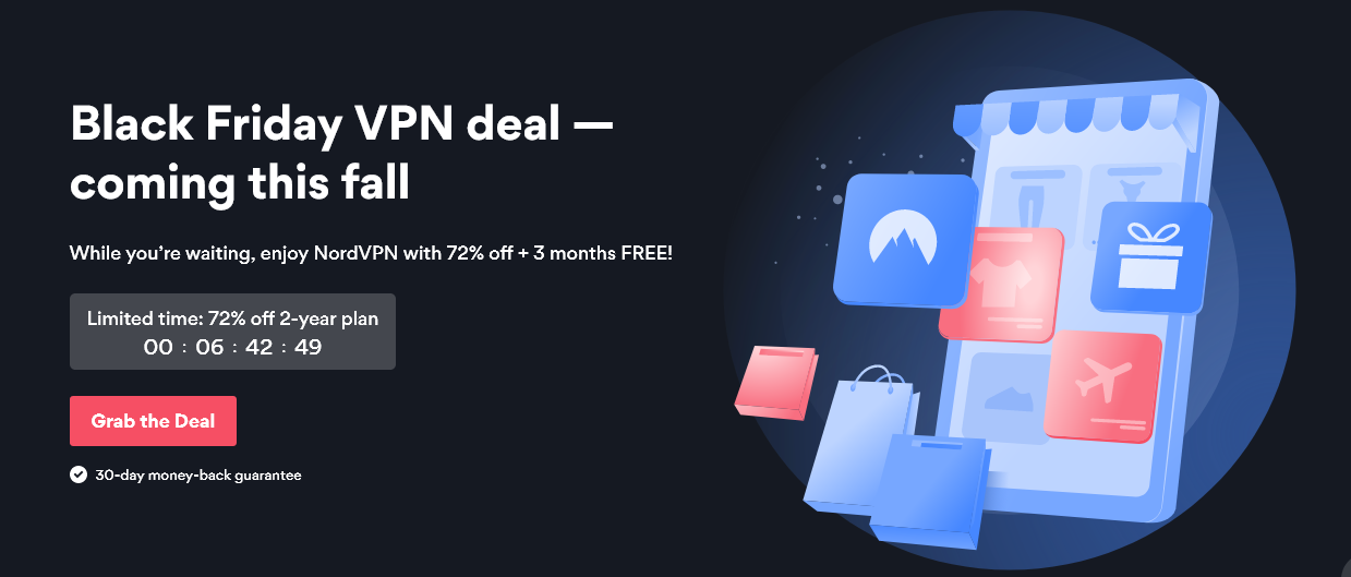 NordVPN Pricing & Discounts for Black Friday!
